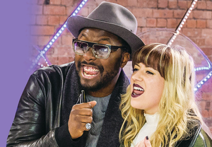 Will.i.am and Leah McFall reunite  on The Voice to help out this year's contestants