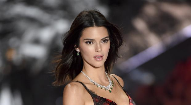 Kendall Jenner was among the models to hit the catwalk for the Victoria's Secret Fashion Show (Evan Agostini/Invision/AP)