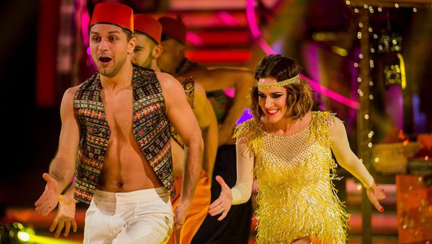 Caroline Flack and Pasha Kovalev dazzled the Strictly Come Dancing judges