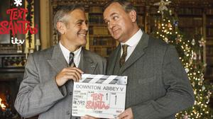 George Clooney filmed a special spin-off Downton Abbey sketch