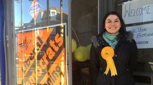 Sarah Olney is standing for the Liberal Democrats
