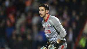 Goalkeeper Brad Jones while playing for Liverpool