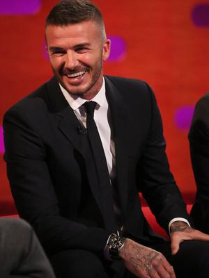 David Beckham described his appointment as a BFC Ambassadorial President as