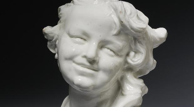 Head Of A Laughing Child by Louis-Francois Roubiliac (Victoria and Albert Museum/PA)