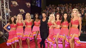 Peter Andre (centre) is confident he can resist temptation during his stint on Strictly Come Dancing