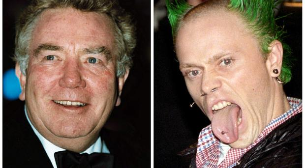 Albert Finney and Keith Flint are among the stars to have died in 2019 (PA)