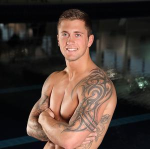 Dan Osborne says he's desperate to beat Richard Whitehead in Splash!