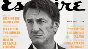Sean Penn has been talking to Esquire