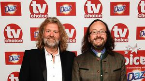 TV star Si King (left), with fellow Hairy Biker Dave Myers will be in Belfast as part of the show.
