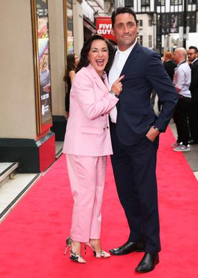 Shirley Ballas and Danny Taylor (Isabel Infantes/PA)