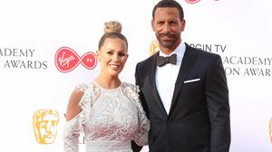 Kate and Rio Ferdinand (Isabel Infantes/PA)