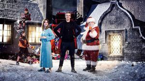 Jenna Coleman, who stars with Peter Capaldi and Nick Frost in the Doctor Who Christmas special, will stay on for the first half of the next series, according to reports