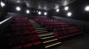 An empty cinema theatre in Canary Wharf (Yui Mok/PA)