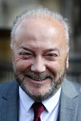 George Galloway posted following the Champions League final (Lewis Whyld/PA)