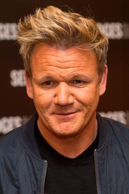 TV celebrity: Gordon Ramsay