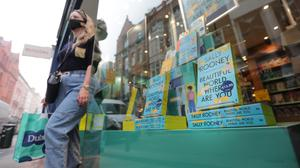 Flying off the shelves: Sales of the author's latest novel has 'filled up the shops again', say booksellers