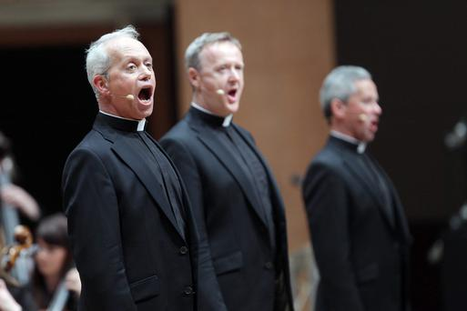 The Priests performed at the first of two special Easter concerts