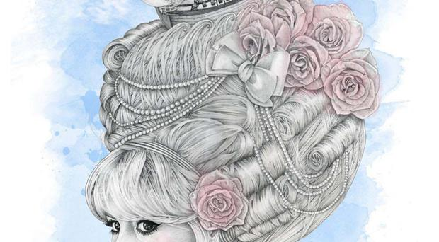 Sara O'Neill manages to bring together fantastical creations which combine all three in complex pencil drawn designs