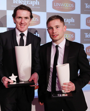 Star quality: Tony McCoy (left) and Carl Frampton at last year's Belfast Telegraph Sports Awards