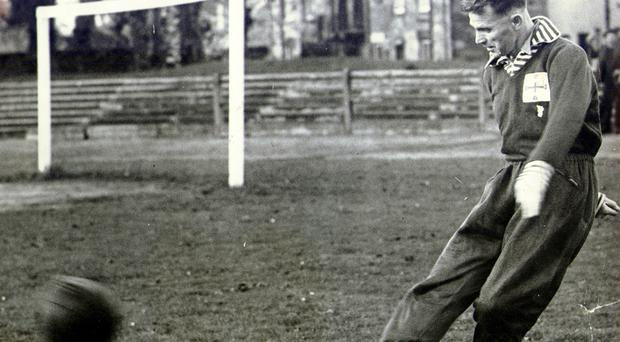 Pure genius: Peter Doherty was among the first players to be inducted into English football's Hall of Fame