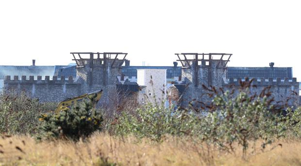 Game of thrones set at the Docks Belfast. Picture Colm O'Reilly Sunday Life