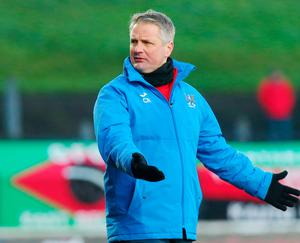Oval hero: Colin Nixon is adored by the Glens faithful