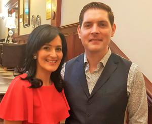 Malachi Cush with wife Claire