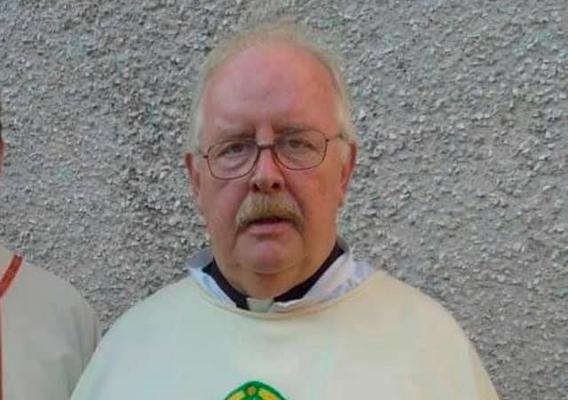 Fr Joe McKeever who passed away at Craigavon Area Hospital from Covid-19 on Saturday