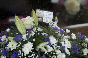 PACEMAKER BELFAST   24/03/2016 The funeral of the five Buncrana pier victims takes place at Holy Family Church, Ballymagroarty on Thursday. The victims were Ruth Daniels, her 14-year-old daughter Jodie Lee Daniels, her son-in-law Sean McGrotty, and his sons Mark, 12, and Evan, eight.  The only survivor was Mr McGrotty's four-month old daughter, Rionaghac-Ann. They died after their car slid off a pier in Buncrana County Donegal last Sunday night. Photo Mark Marlow/Pacemaker Press