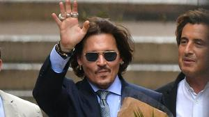 Johnny Depp leaves the High Court in London (Dominic Lipinski/PA)