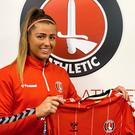 Northern Ireland midfielder Ciara Watling has joined Charlton Athletic