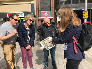 The Archaeology & Architecture of Castle Place walking tour in Belfast