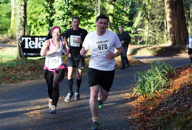 Mandatory Credit - Picture by Freddie Parkinson/Press Eye © Saturday 19th November 2016 Belfast Telegraph Run Forest Run Drum Manor Forest Park, Drum Road, Cookstown BT80 9RT Patrick Lundy from Stockport