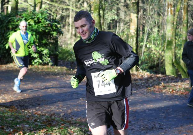 Mandatory Credit - Picture by Freddie Parkinson/Press Eye © Saturday 19th November 2016 Belfast Telegraph Run Forest Run Drum Manor Forest Park, Drum Road, Cookstown BT80 9RT Stuart Burnside	 ballygowan
