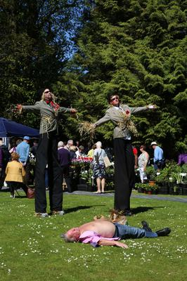 Promising a fabulous Festival of Flowers, Food and Fun, the three day Show is set to welcome a bumper crowd to the stunning Antrim setting over the weekend.  Picture by Darren Kidd / Press Eye.