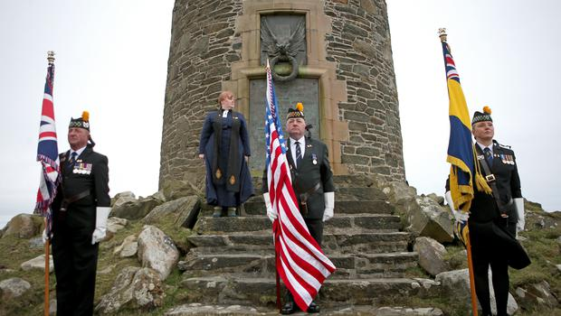 The American Moment at the Mull of Oa on Islay (Jane Barlow/PA)