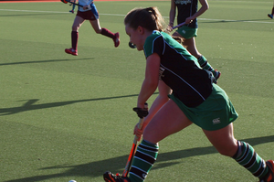 A Sullivan player in action.