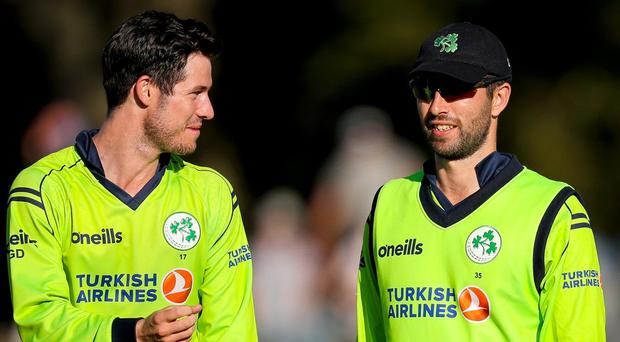 Ireland captain Andrew Balbirnie (right) is keen to ensure his side's opening T20 win is no flash in the pan.