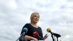 Stormont's political leaders are seeking a special summit including the British and Irish Governments to address discord over Covid-19 travel restrictions (David Young/PA).