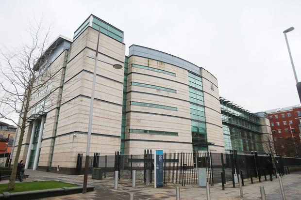 Belfast Magistrates' Court (Niall Carson/PA)
