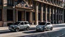 The Fiat Panda and 500 hybrids