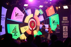 Four-midable: The 4 is for the TV channel and not the average score recorded by a BDO player