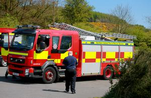 Emergency services arrive at Cavehill country park in Belfast following reports of a person feeling ill in the park on May 2nd 2017 (Photo - Kevin Scott / Belfast Telegraph)