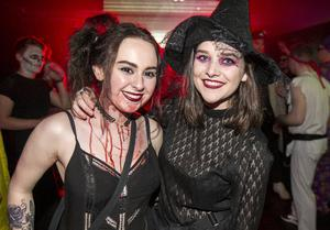 People out to celebrate 20 yrs of Shine on Halloween night. Saturday 31st October 2015. Picture by Liam McBurney/RAZORPIX