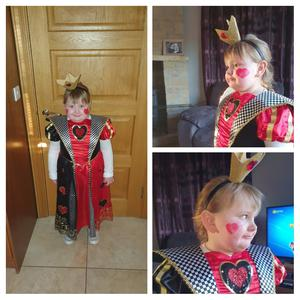 Ava Rose Browne, aged 6 from Fermanagh