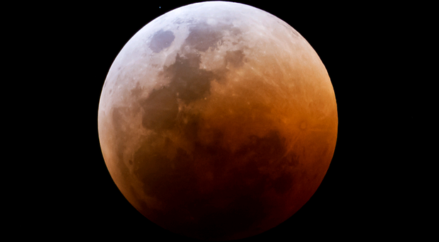 Lunar eclipses are sometimes called 'blood moons' because the light bouncing off the moon is refracted through the Earth's atmosphere giving it a coppery hue