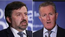 Exceutive ministers Swann and Murphy have clashed over the coronavirus response.