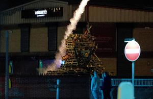 Divis as Anti-Internment bonfires are lit on August 8th 2017 (Photo by Kevin Scott / Belfast Telegraph)