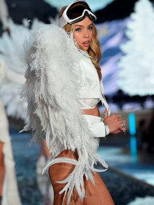 NEW YORK, NY - NOVEMBER 10:  Model and New Victoria's Secret Angel Stella Maxwell from The United Kingdom walks the runway during the 2015 Victoria's Secret Fashion Show at Lexington Avenue Armory on November 10, 2015 in New York City.  (Photo by Dimitrios Kambouris/Getty Images for Victoria's Secret)