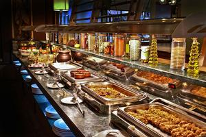 Sheikh Saleh al-Fawzan says open buffets involve paying lump sum for 'unknown' quality and quantity of goods – which goes against Sharia law